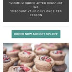 30% off Cupcakes at Cupcake Central