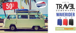 55% off American Tourister Waverider Luggage Sets @ Bagworld