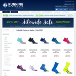 Premium Performance Running Socks $7.95 (Normally $34.95) @ Running Warehouse Australia