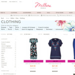 40% off @ Millers (in Store and Online)
