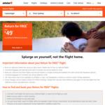 Jetstar Return For Free Sale: Domestic Return From $39, International Return From $129
