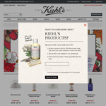 15% off Online Site Wide Today and in Store This Weekend for Kiehls