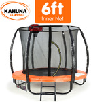 Kahuna 6 Ft Trampoline With Safety Net @ Klika $99 + Shipping (50 Units)