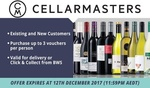 OzBargain Exclusive: 50% off Cellarmasters $100 Voucher Code ($190 Min Spend) - Now $5 @ Groupon