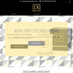 40% off Candles Store Wide @ Luxescent