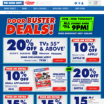 "TheGoodGuys Door Buster Deals 20% Off TV 55"" and Above 15% Off, HP & Lenovo Desktop & Notebooks + More"