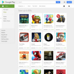 Save up to 80% - Android Games - play.google.com - Bloons TD 5, Reigns, True Skate & More.