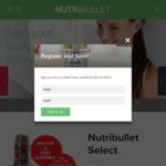 Nutribullet Select 1000W $139.97 (Bonus Bag Valued $29.95) with 30% off Code RRP $199.95 @ Bulletbrands
