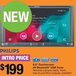 Philips 2 Din 6.8inch LCD Car Head Unit $199 @ Repco Catalogue (In-Store)