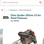 [NSW] Ozito 305mm Petrol Chainsaw $80 @ Bunnings (Minchinbury)