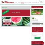 [VIC] Whole Seedless Watermelon $0.29 Per Kg @ Big Watermelon Bushy Park