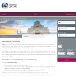 Free One Night or $100 Two Nights 5-Star Hotel Stopover in Doha with Qatar Airlines