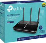 TP-LINK Archer VR600 AC1600 Wireless VDSL/ADSL Modem Router ($109.97) @ EB Games (Price Match at Officeworks for $104.47)