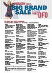 [NSW] DFO Homebush Big Brand Sale (8-11 June) - 50% off Levi's, Coach 60% off, Fossil 60% off + More