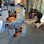 [NSW/SYD CBD] - Free Red Rock Deli Maple Butter & Sea Salt Popcorn - Cnr Castlereagh St and Park St