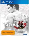 [PS4] Pre-Order Yakuza Kiwami 2 Steelbook $64.99 Delivered @ Amazon AU