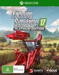 [XB1] Farming Simulator 17 Platinum Edition $20 + Delivery (Free with Prime/ $49 Spend) @ Amazon AU