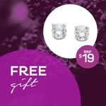 [TAS] Sign up to E-Newsletter In-Store & Receive a Free Pair of Prouds Cubic Zirconia Earrings Worth $19 (First 200) @ Eastlands