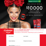 Win a $10,000 Race Day Experience or 1 of 22 $100 EFTPOS Cards [Purchase Any Colgate® Optic White™ Product at Woolworths]