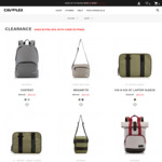 Extra 20% off Sale Items Plus Free Delivery for Orders over $50 @ Crumpler