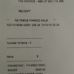 "Panasonic 65"" Master OLED 4K Pro Technics Soundblade TH-65EZ1000U $2900 in-Store @ JB Hi-Fi"