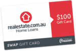 Free $100 Gift Card (When You Apply for an Online Approval to Re-Finance Your Home Loan) @ Realestate.com.au Home Loans