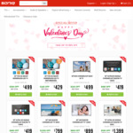 "SONIQ Valentine's Sale 55"" UHD LED TV (In-built Chromecast) $419 (RRP $899) 