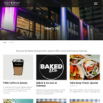 [NSW] Free Coffee. Gateway Building, Circular Quay 7-8:30am and 1,000 Free Donuts Per Day @ Baked & Co (Circular Quay, Sydney)