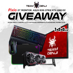 "Win a Pixio 27"" 144Hz Gaming Monitor, ASUS ROG Strix RTX 2060 OC and RAZER Peripherals from Team Genji"
