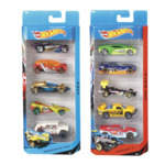 Hot Wheels 5 Pack Cars Assorted Pack $5 (RRP $10) @Target