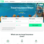 35% off Travel Insurance @ Travel Insurance Direct