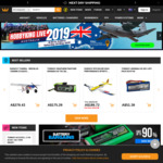 15% off Storewide (Minimum US $70 Spend) @ Hobbyking