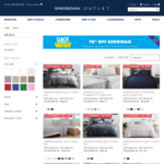 EXTENDED - Click Frenzy Sale - 70% off Sheridan @ Sheridan Outlet