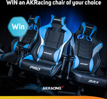 Win an AK Racing Office/Gaming Chair of Choice Worth Up to $1,090 from Scan