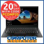 Lenovo X1 Carbon Gen 6 FHD Touchscreen i7 8550U 16GB 256GB $1,596.00 + $15 Delivery ($0 with eBay Plus) @ Computer Alliance eBay