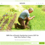 Win The Ultimate Gardening Lovers Gift for Dad this Father's Day Worth $440 from Weleda