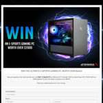 Win an Aftershock Bolt eSports PC Worth $2,000 from Aftershock PC