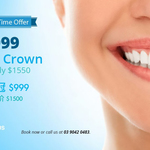 [VIC] Black Friday Dental Crown $999 Instead of $1550 @ GorgeousSmiles (Melbourne CBD)