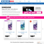 """Win """"The Cost of Your Samsung S20"""" When You Pre-Order from The Good Guys Valued at up to $2,249 [Purchase]"""