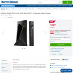 Nvidia Shield TV Pro $349 and Non Pro $249 + Delivery @ Harvey Norman