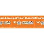 Earn Bonus Rewards Points (600/1000/2000) on Ultimate Gift Cards ($30/$50/$100) @ Big W