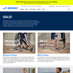 Extra 20% off Sale Items @ Brooks (Free Delivery for Orders over $50)