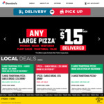 3 Traditional Pizzas $20 (Selected Stores), Chicken Value Mega Box $10 @ Domino's