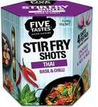 Five Tastes Rice Infusions / Stir Fry Shots Varieties $2 (was $4) @ Woolworths