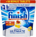 Finish Powerball Quantum Ultimate Dishwasher Tablets, 36 Tabs, $10 ($0.277 Per Tab) @ Big W (Save 40%)