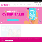 40% off Full-Priced Items Sitewide (Free Shipping with $50) @ Australis Cosmetics