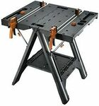 [eBay Plus] WORX WX051 Pegasus Multi-Function Work Table & Sawhorse with Quick Clamps & Pegs $135.20 Delivered @ worxtools eBay