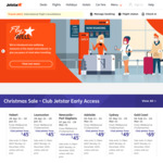 Jetstar Christmas Sale: Flights from Melbourne (Avalon) to Adelaide (21 Feb ~ 29 Mar) $29 and More