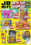 "JB Hi-Fi Boxing Day Sale: Hisense 75"" TV $1446, Samsung Galaxy Note20 $1099 (Was $1499) + More"