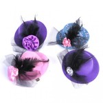 Lovely Feather Flower Hat Style Hair Clips Hairpin for ONLY $0.10 USD + Free Shipping